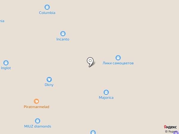 Levi`s на карте Сочи
