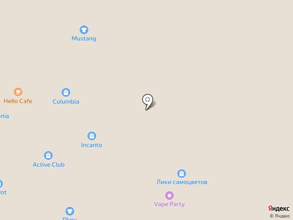 Belwest на карте Сочи