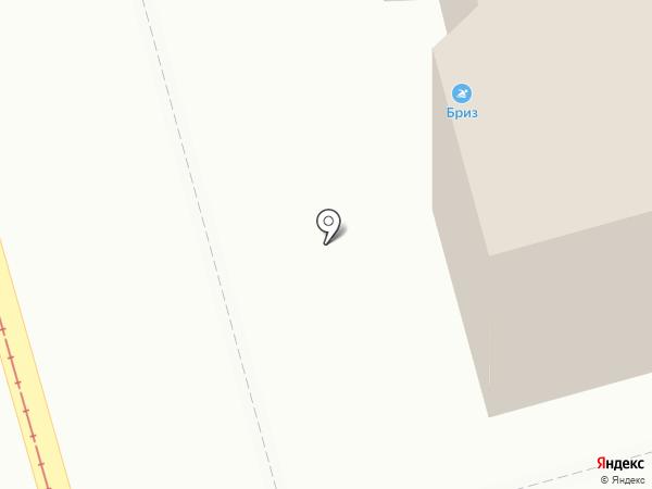 Бриз на карте Ростова-на-Дону
