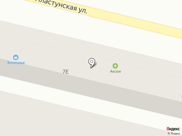 Ермак на карте Сочи
