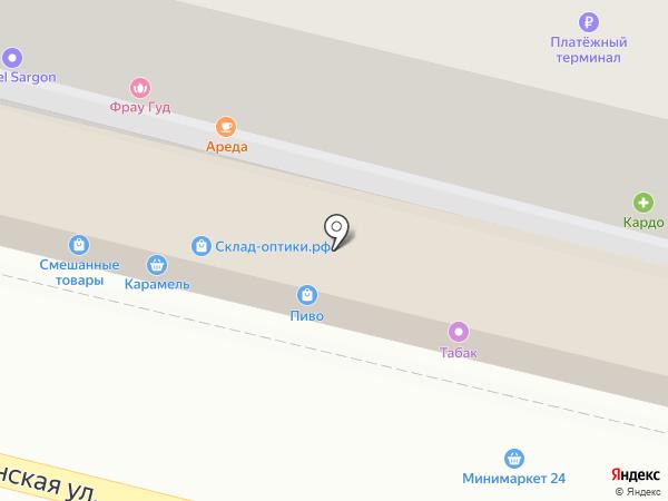 Торес на карте Сочи