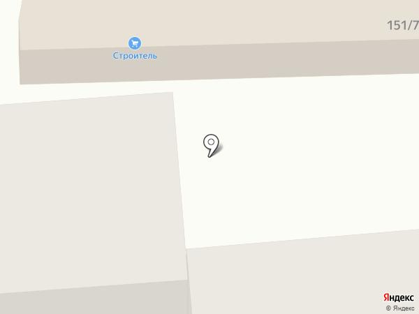 Аррива на карте Батайска
