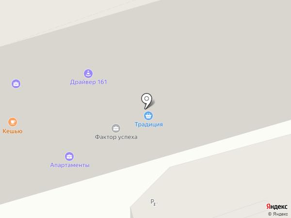 Место на карте Ростова-на-Дону
