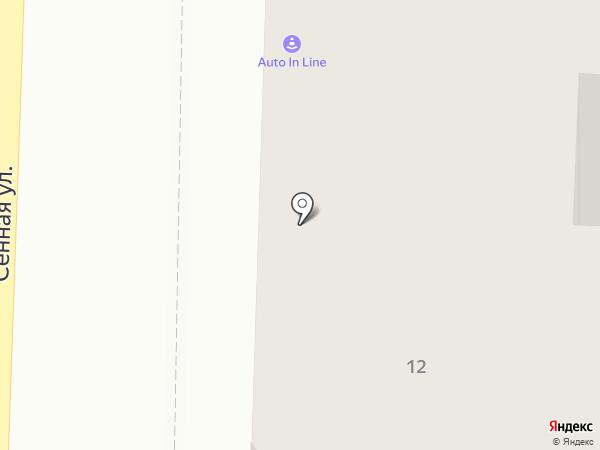 AUTO IN LINE на карте Рязани