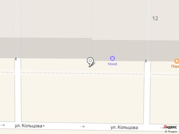 Бобрисэй на карте Рязани