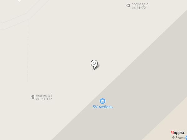 Мервинский на карте Рязани
