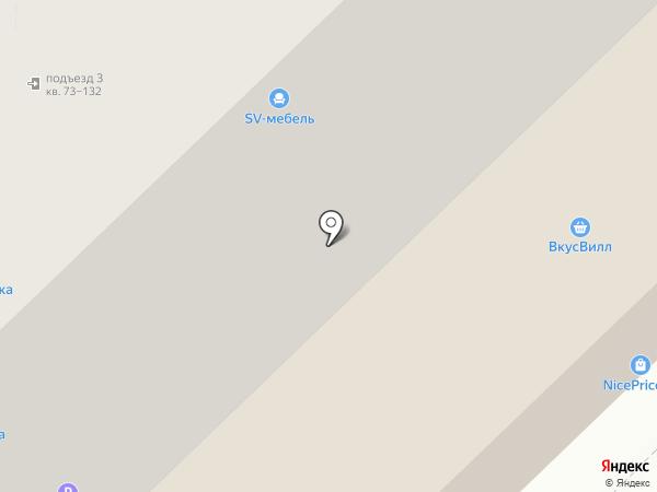 Обломов на карте Рязани