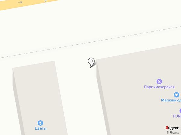 Анекс Тур на карте Батайска