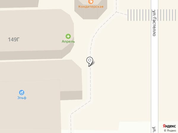 Дома Батайска на карте Батайска