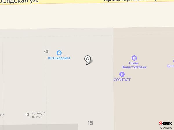 ИнРи на карте Рязани