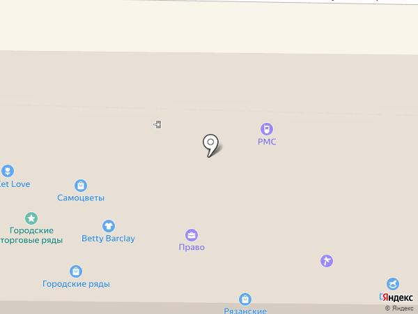 Леди на карте Рязани