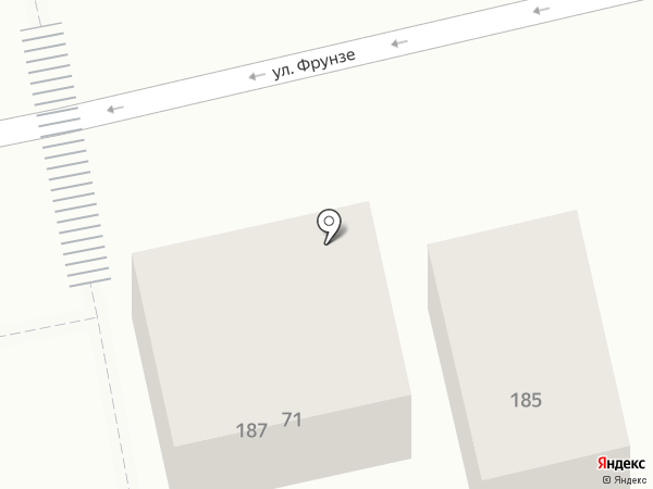 Сер П на карте Батайска
