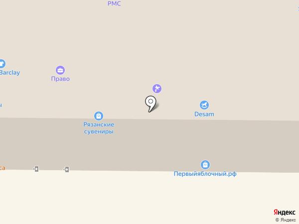 МТС на карте Рязани