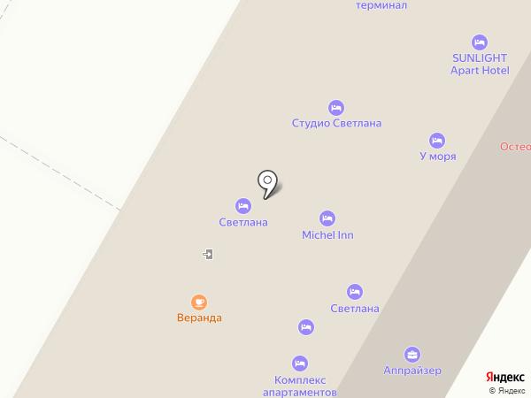 Мира на карте Сочи