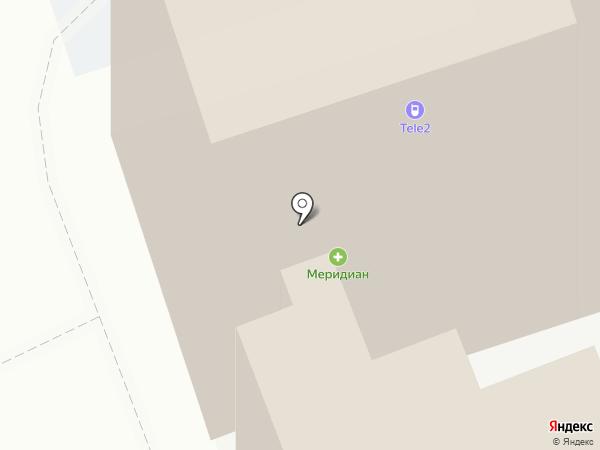 Макслевел на карте Ростова-на-Дону