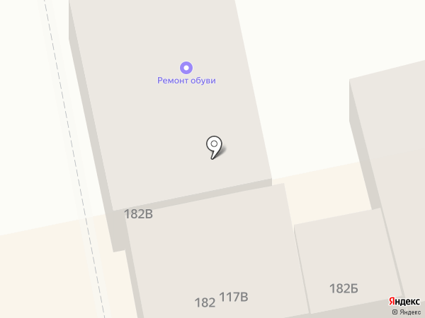 Автоковрик на карте Батайска