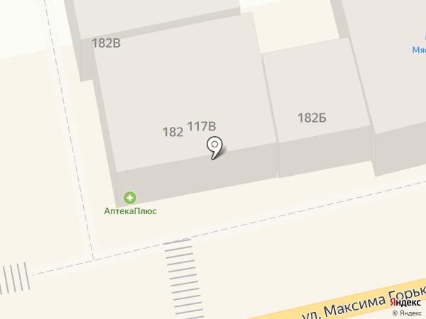 Мяс Хаус на карте Батайска