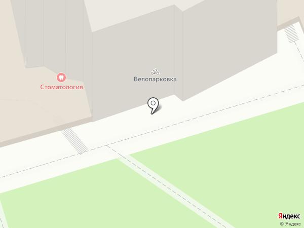 Нежность на карте Ростова-на-Дону