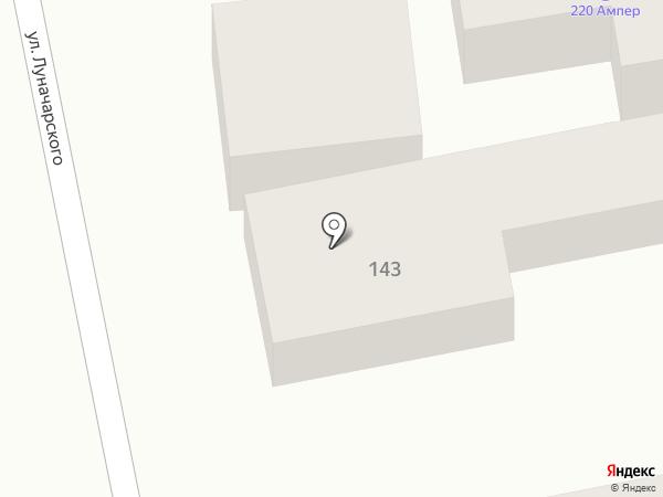 Пенная точка на карте Батайска