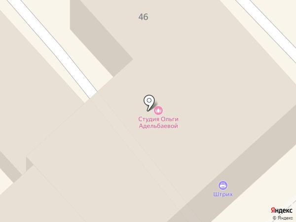 Динамо на карте Рязани