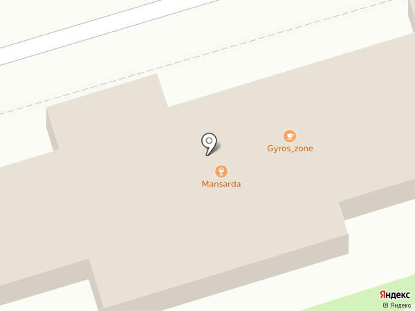 Дон Гиро на карте Ростова-на-Дону