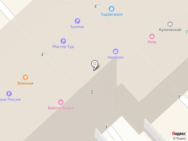 Блинная на Соборной на карте Рязани