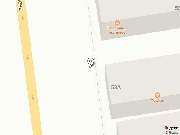 Магазин автозапчастей на карте Батайска