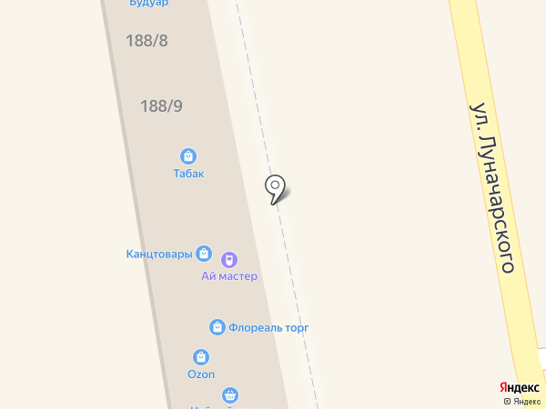 Будуар на карте Батайска