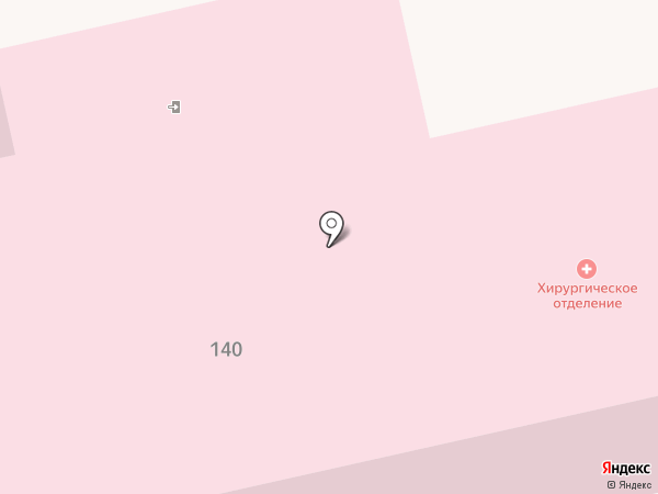 Дорожная клиническая больница на карте Батайска