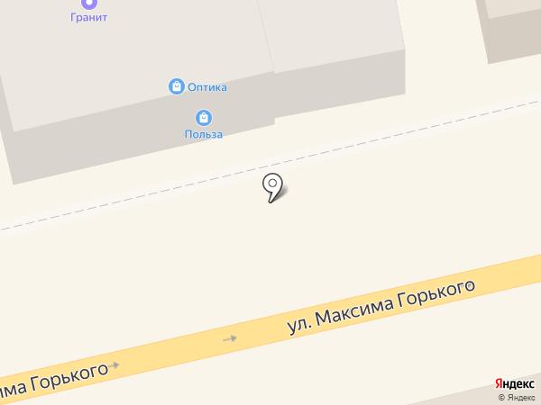 Гранит на карте Батайска