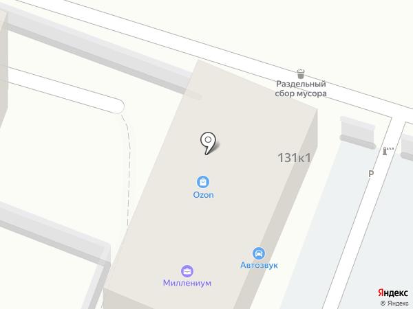 Абсолют Пласт на карте Сочи