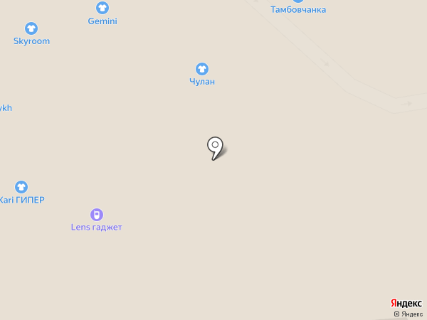 Анита на карте Рязани