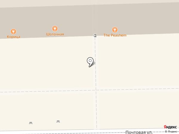 Корица на карте Рязани