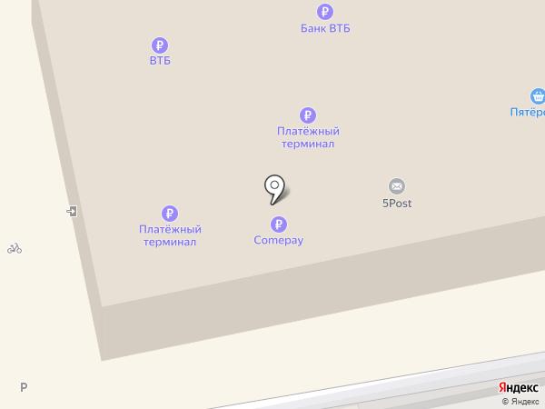 Банкомат, Банк ВТБ 24 на карте Батайска