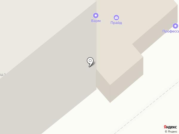 Лианейл-Юг на карте Ростова-на-Дону