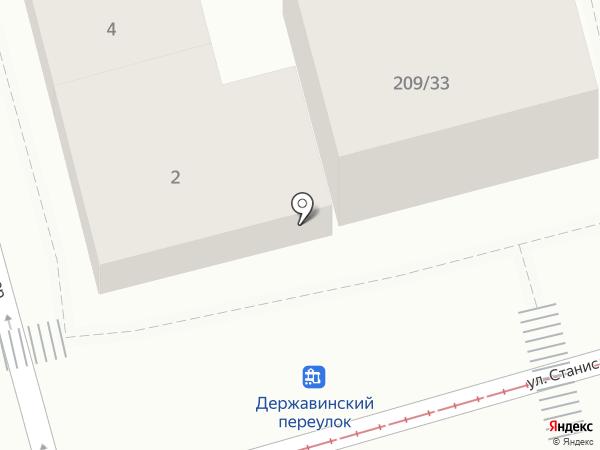 Мастер Блеск на карте Ростова-на-Дону