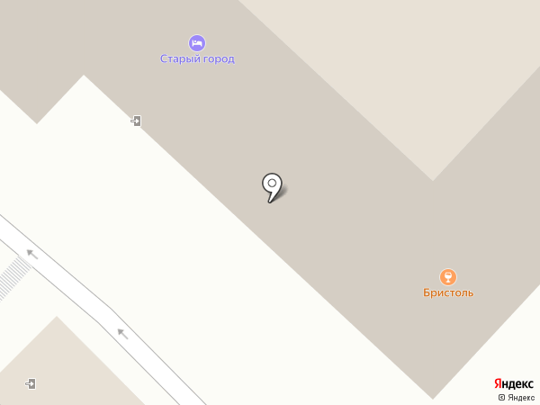Бристоль Паб на карте Рязани