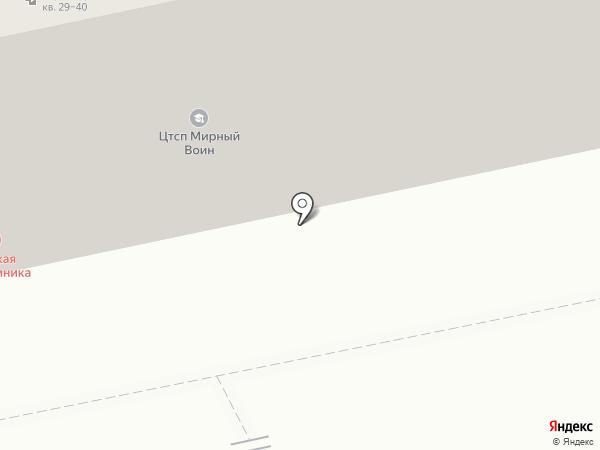 Детская поликлиника №1 на карте Батайска