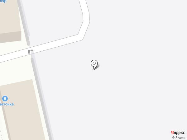 Автореальность на карте Батайска