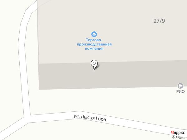 Торгово-производственная компания на карте Сочи