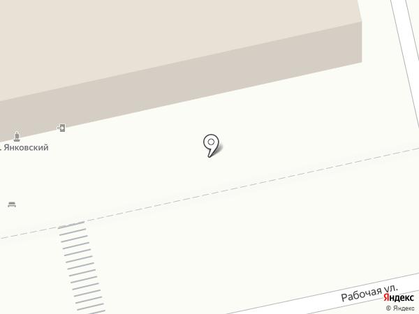 Отдел полиции Управления МВД России на карте Батайска