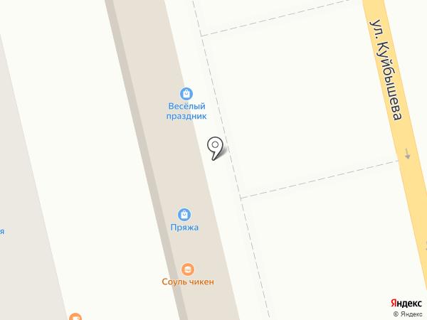 Магазин кондитерских изделий на карте Батайска