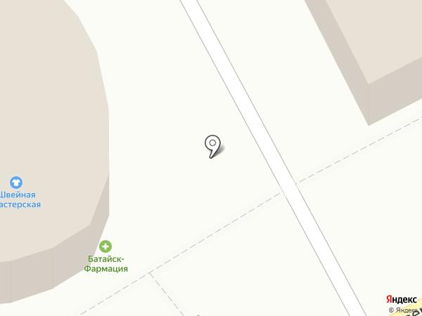 Батайск-Фармация на карте Батайска