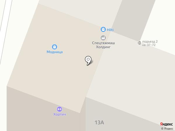 Мандаринка на карте Ростова-на-Дону