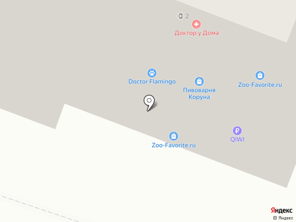 ЛЕАНТА на карте Ростова-на-Дону