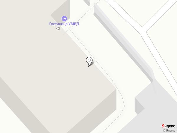 Гостиница на карте Рязани