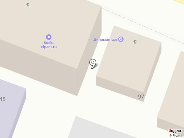 Оптимус на карте Ростова-на-Дону