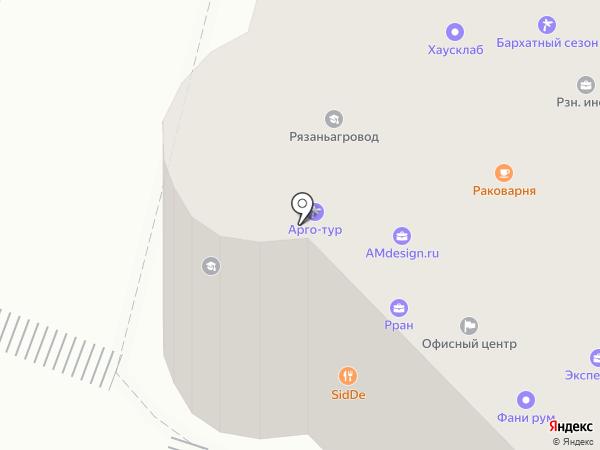 Street pub на карте Рязани