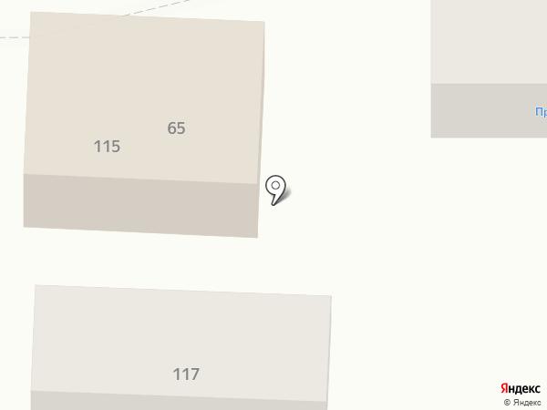 Березка на карте Батайска