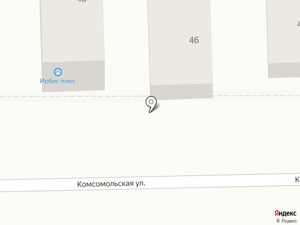 Ирбис на карте Батайска
